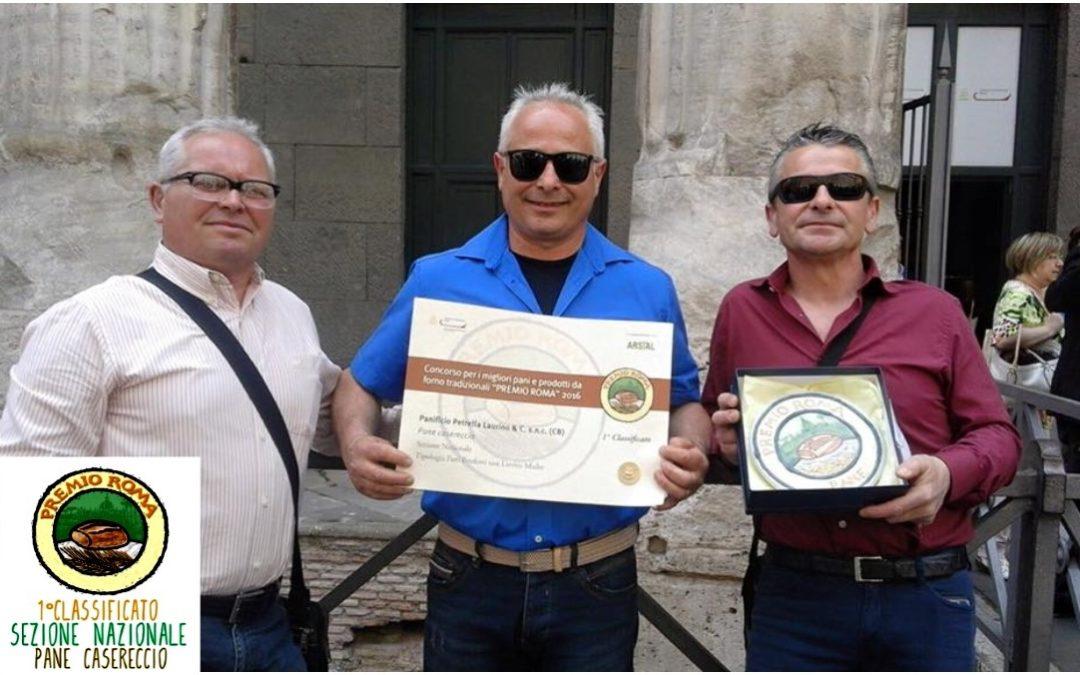 """Premio Pane Roma 2016, il Molise vola grazie al """"Panificio Petrella Laurino"""""""